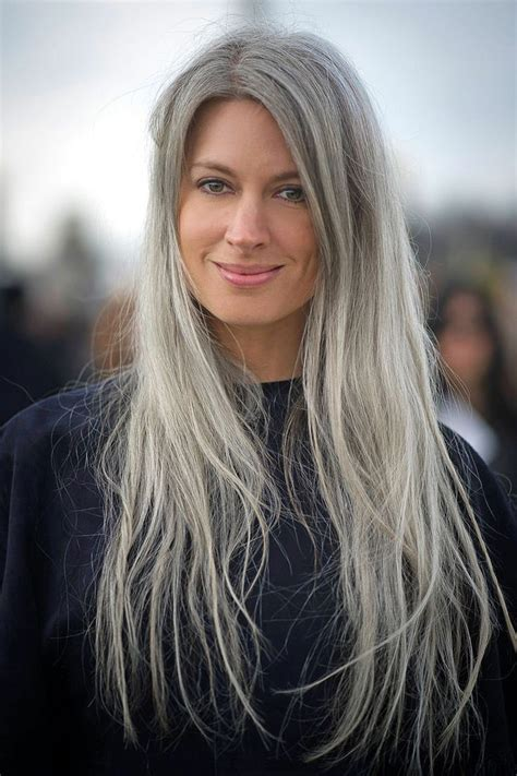 Grey Hair Is A Top Beauty Trend For 2015 And Im Way