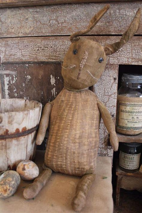 530 best primitive bunnies images on pinterest stuffed