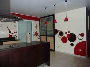Décoration Intérieure Salon : idee decoration d 39 interieur peinture ~ Teatrodelosmanantiales.com Idées de Décoration