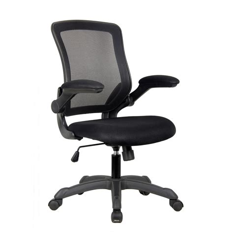 Office Chairs With Flip Up Arms by Techni Mobili Mesh Task Office Chair With Flip Up Arms