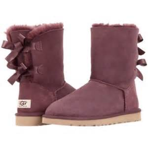 womens ugg boots m m 34 ugg shoes ugg bailey bow boots in burgundy from caroline top seller 39 s closet on