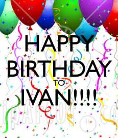 personalised birthday cakes happy birthday to ivan poster felicia keep calm o