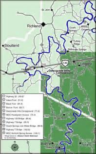 Gasconade River Missouri Map