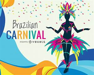 Colorful Carnival illustration - Vector download