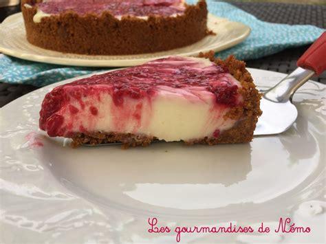 tarte sans cuisson citron framboises les gourmandises de n 233 mo