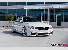 Alpine White BMW M3 Upgraded With Vossen And Work VWS3 Wheels