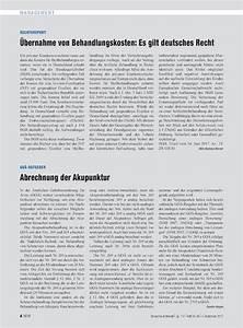 Abrechnung Goä : go ratgeber abrechnung der akupunktur ~ Themetempest.com Abrechnung