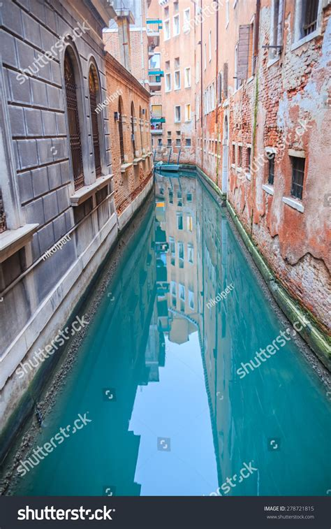Canals Venice Italy Shallow Depth Field Stock Photo