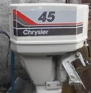 Chrysler 35 45 55 Hp Outboard Motor Workshop Service