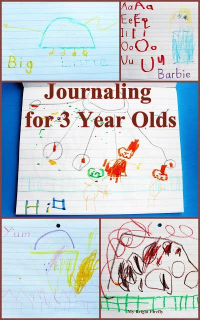 telling stories  journaling   year olds