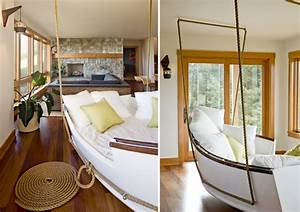 10 antique and vintage boats make stylish home decorations for Interior decorating ideas for boats