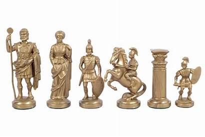 Weighted Felt Roman Bottom Golden