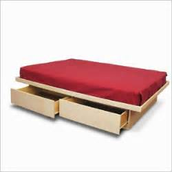 woodwork   build  platform bed  drawers  plans
