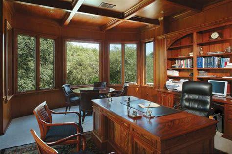 wooden custom home office furniture  built  shelves