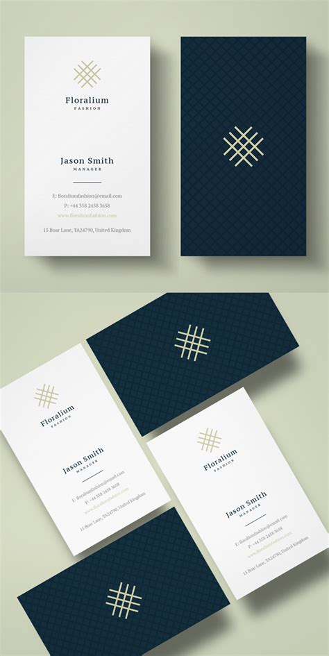 clean business card template free clean business card templates design graphic design