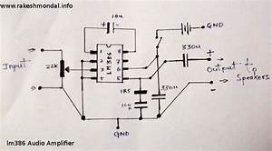 Lm386 Due To Its Small Size Lm386 Is Perfect For Various