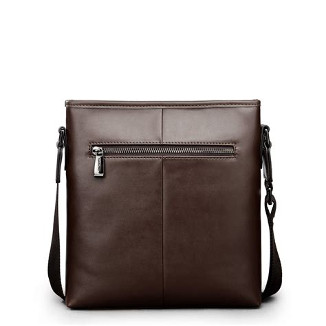 Leather Crossbody Bag by Rome Knights Leather Crossbody Bag Brown