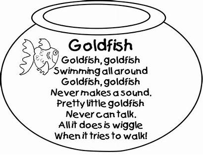 Poems Poem Fish Grade Number Poetry Goldfish