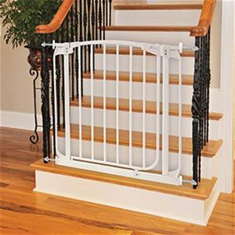 baby banister gate adapter dreambaby banister gate adaptors silver