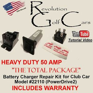 Battery Charger Model 22110 Club Car 48v Wiring Diagram by Hd Battery Charger Repair Rebuild Kit Powerdrive2