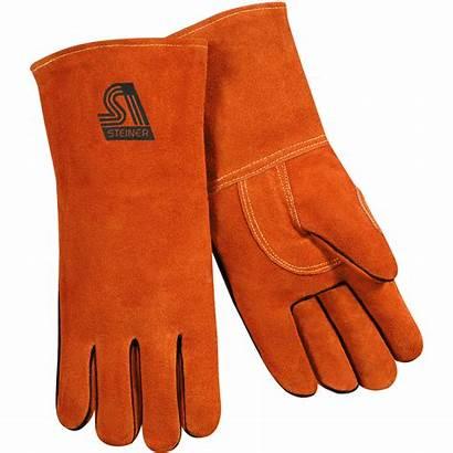 Welding Stick Gloves Leather Thermocore Split Steiner
