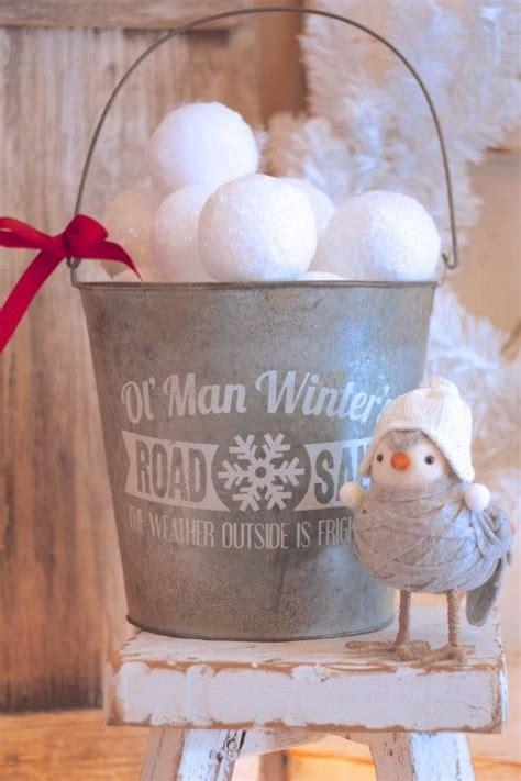 cute snowball decor ideas  winter holidays digsdigs