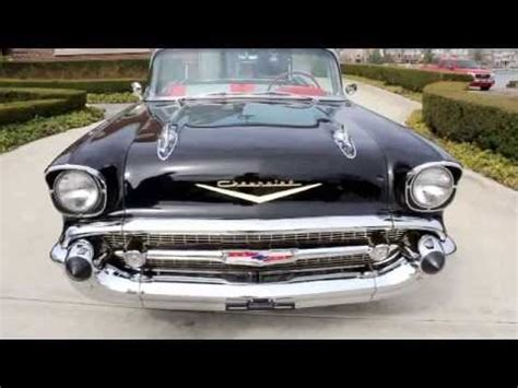1957 chevy bel air convertible classic muscle car for sale in mi vanguard motor sales youtube