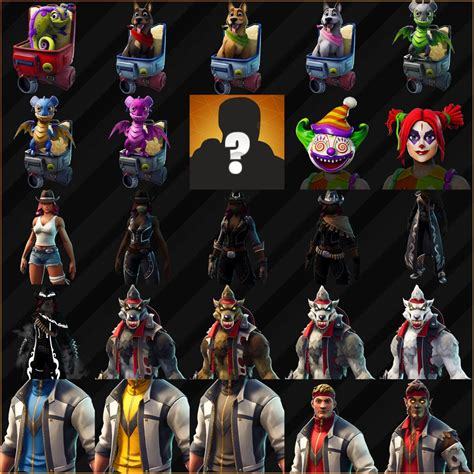 fortnite season  skins  full  spooky halloween