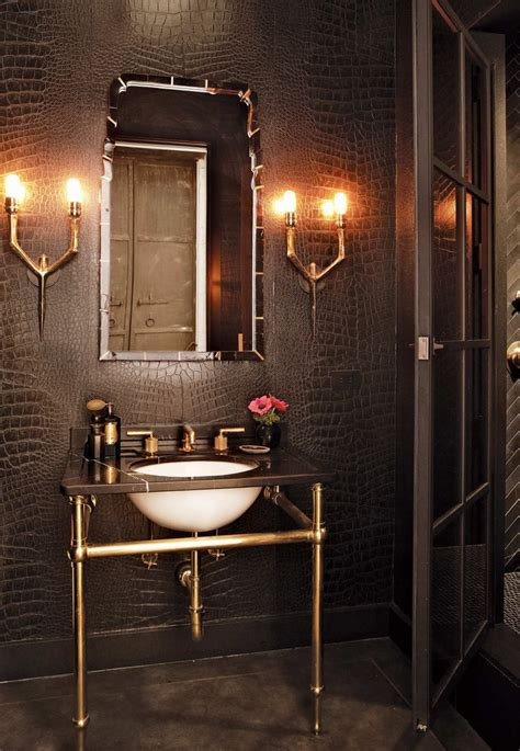 statement making powder rooms dk decor