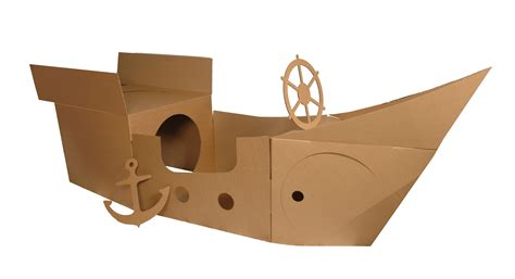 Pirate Ship Cardboard Boat by Pictures Of A Cardboard Pirate Ship Cardboard Pirate
