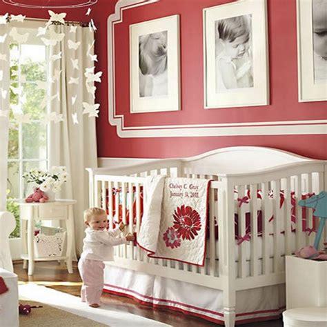 décoration pour chambre de bébé une décoration pimpant pour une chambre de bébé