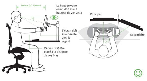 bonne position bureau ergonomie bureau top 25 best ergonomie bureau ideas on