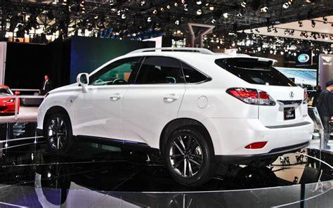 lexus white 2014 2014 lexus rx 350 white top auto magazine