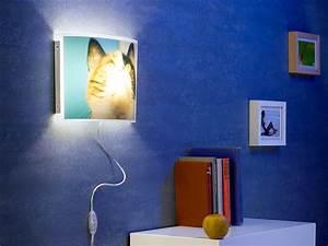 Lampe Mit Eigenen Fotos : your design individuelle wandlampe bedruckbar mit ihrem ~ Lizthompson.info Haus und Dekorationen