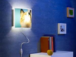 Wandlampe Selber Bauen : your design fotowandlampe individuelle wandlampe ~ Lizthompson.info Haus und Dekorationen