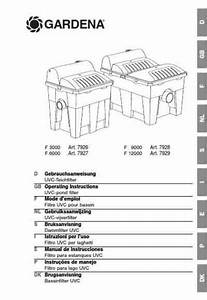 Gardena F 12000 Others Download Manual For Free Now