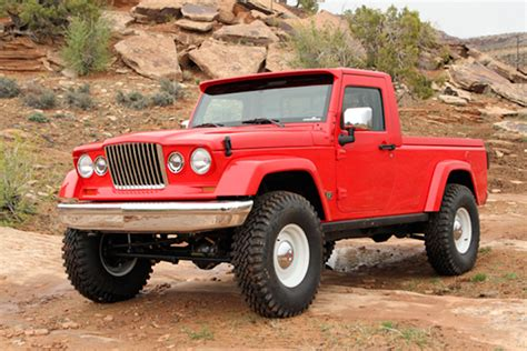 report jeep pickup   works