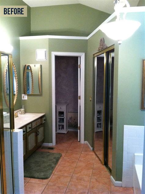 cream brown transitional bath neals design remodel