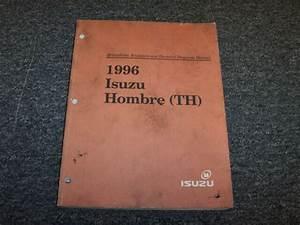 1996 Isuzu Hombre Driveability  U0026 Emissions Electrical