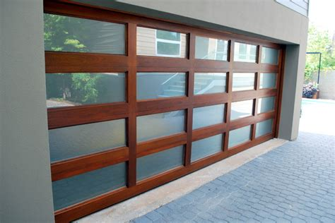 mahogany full view garage door  cowart door systems
