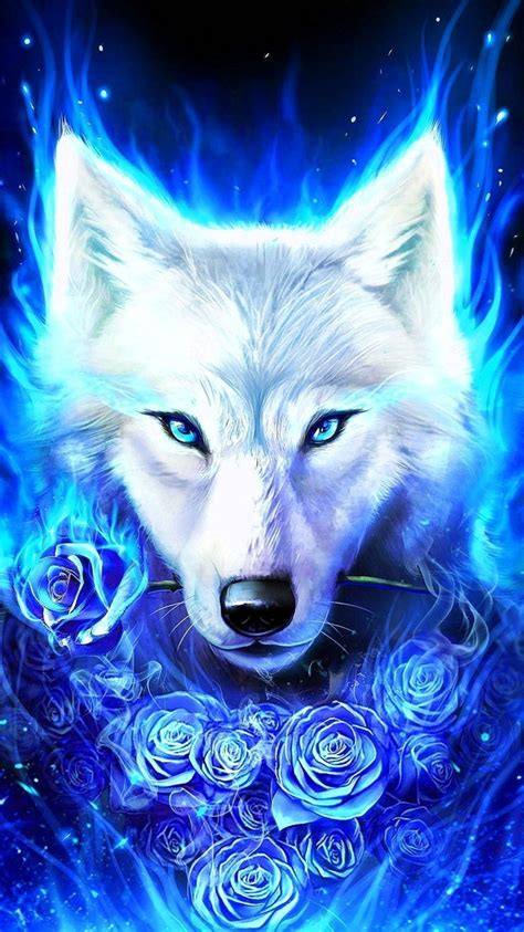 galaxy wolf wallpapers hd wolf wallpaperspro