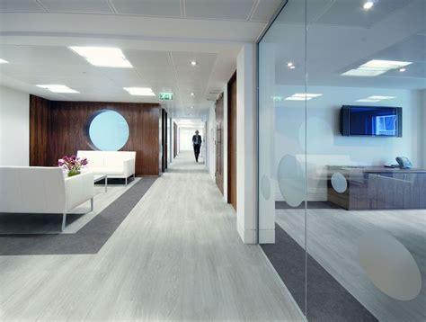 office flooring vinyl grey offices concrete rubber luxury corporate expona control floors lvt oak warm options carpets tiles tile reception
