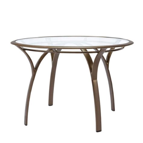 42 round dining table brown jordan pasadena 42 round dining table with glass top