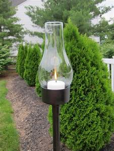 outdoor candle lantern using a tuna can thrift store With outdoor lighting hurricane lanterns