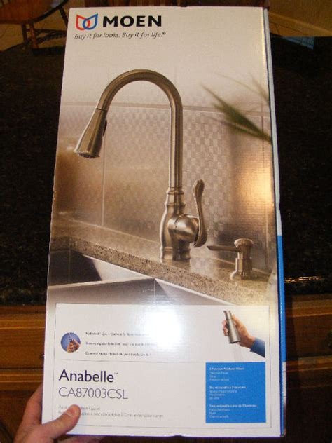 moen anabelle kitchen faucet leaking moen quot anabelle quot kitchen faucet review plumbing zone