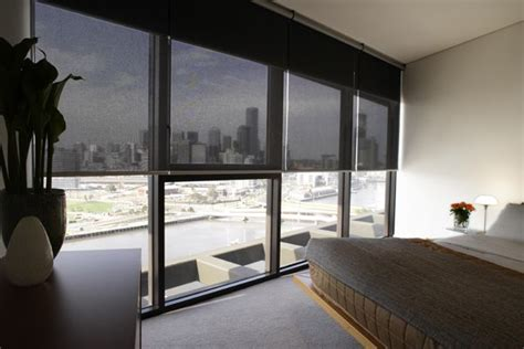 Semi Opaque Blinds by Semi Opaque Roller Shades With A View In A High Rise