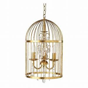 Lustre Maison Du Monde : lustre cage bologne maisons du monde ~ Teatrodelosmanantiales.com Idées de Décoration