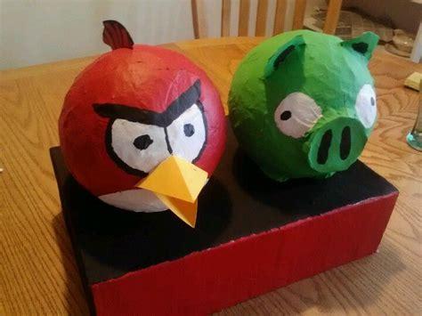Angry Birds Paper Mache Valentines Day Box Valentine day