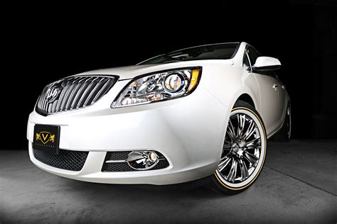 this is a buick verano with vt372 custom vogue wheels and