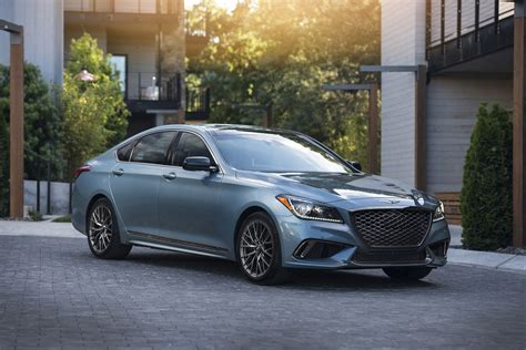 2018 genesis g80 sport review it s not all in the name